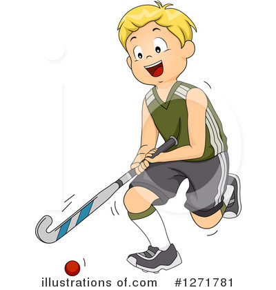 Hockey Clipart #1271781 by BNP Design Studio