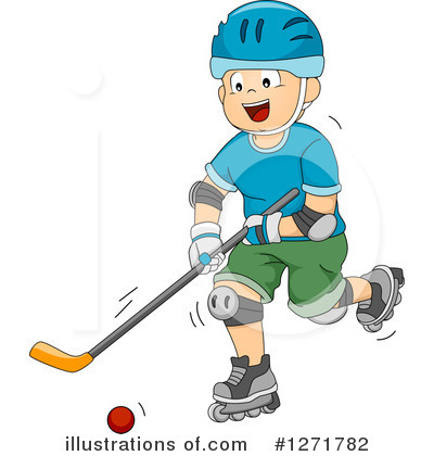 Hockey Clipart #1271782 by BNP Design Studio