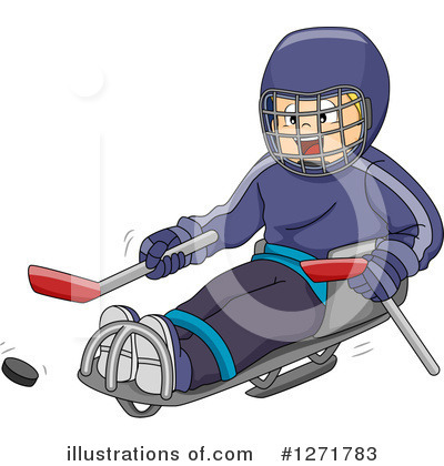 Royalty-Free (RF) Hockey Clipart Illustration by BNP Design Studio - Stock Sample #1271783