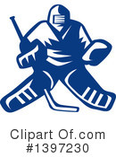 Hockey Clipart #1397230 by patrimonio