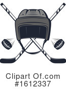 Hockey Clipart #1612337 by Vector Tradition SM