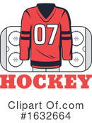 Hockey Clipart #1632664 by Vector Tradition SM