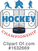 Hockey Clipart #1632669 by Vector Tradition SM