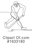 Hockey Clipart #1633180 by patrimonio