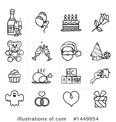 Royalty-Free (RF) Holiday Clipart Illustration by AtStockIllustration - Stock Sample #1449054
