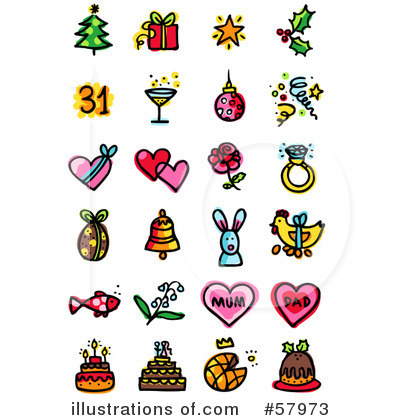 New Year Clipart #57973 by NL shop