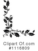 Royalty-Free (RF) Holly Clipart Illustration #1116809