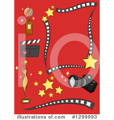 Clapperboard Clipart #1299993 by BNP Design Studio
