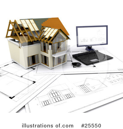 Architect Clipart #25550 by KJ Pargeter