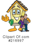 Home Mascot Clipart #216997 by Toons4Biz