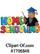 Home School Clipart #1706848 by visekart