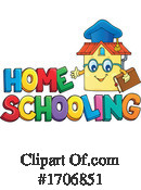 Home School Clipart #1706851 by visekart