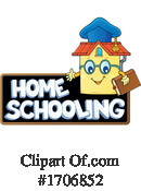 Home School Clipart #1706852 by visekart