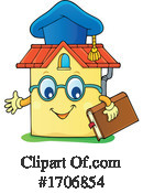 Home School Clipart #1706854 by visekart