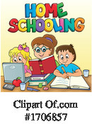 Home School Clipart #1706857 by visekart