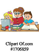 Home School Clipart #1706859 by visekart