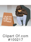 Homeless Clipart #100217