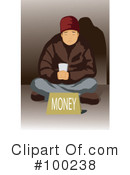 Homeless Clipart #100238