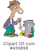 Homeless Clipart #439898 by toonaday