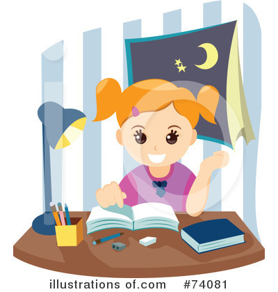 Royalty-Free (RF) Homework Clipart Illustration by BNP Design Studio ...