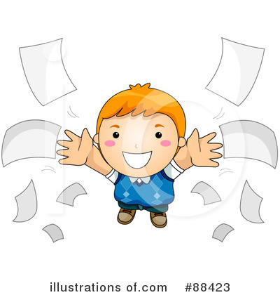 Royalty-Free (RF) Homework Clipart Illustration by BNP Design Studio - Stock Sample #88423