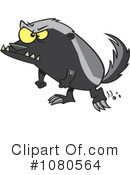 Royalty-Free (RF) Honey Badger Clipart Illustration #1080564