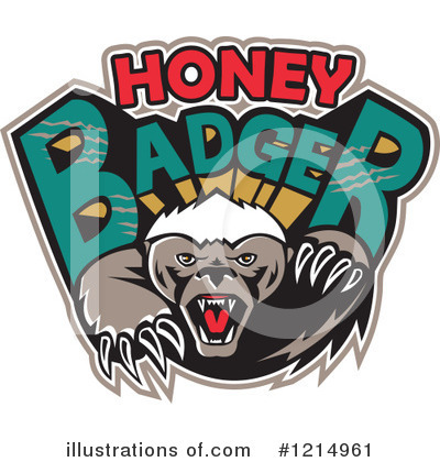 Badger Clipart #1214961 by patrimonio