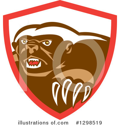Badger Clipart #1298519 by patrimonio