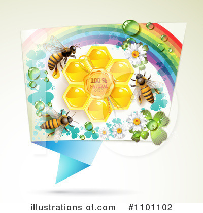 Honey Bee Clipart #1101102 by merlinul