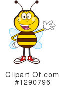 Honey Bee Clipart #1290796 by Hit Toon