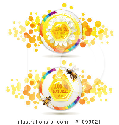 Honey Bee Clipart #1099021 by merlinul