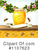 Royalty-Free (RF) Honey Clipart Illustration #1107623