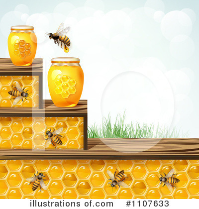 Honey Bee Clipart #1107633 by merlinul