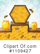 Royalty-Free (RF) Honey Clipart Illustration #1109427