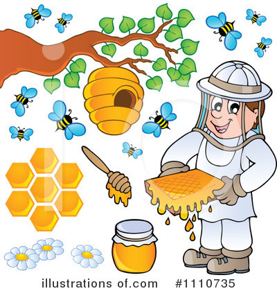 Bee Hive Clipart #1110735 by visekart
