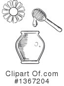 Honey Clipart #1367204 by Vector Tradition SM