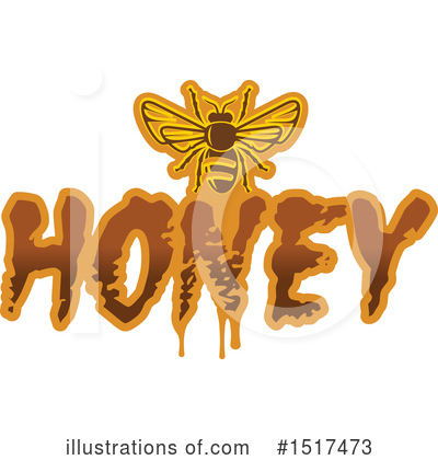 Bee Clipart #1517473 by Vector Tradition SM