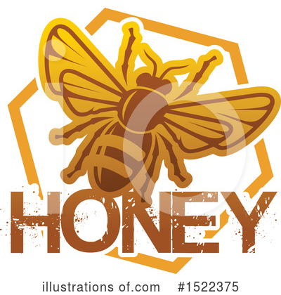 Bee Clipart #1522375 by Vector Tradition SM