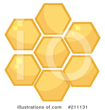 Royalty-Free (RF) Honey Clipart Illustration by Hit Toon - Stock Sample #211131