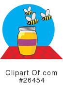 Royalty-Free (RF) Honey Clipart Illustration #26454