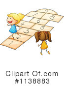 Royalty-Free (RF) Hop Scotch Clipart Illustration #1138883