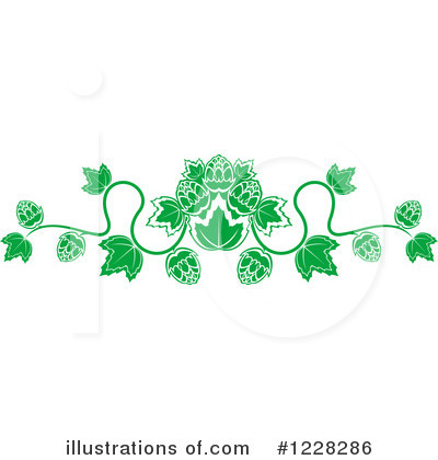Royalty-Free (RF) Hops Clipart Illustration by Vector Tradition SM - Stock Sample #1228286
