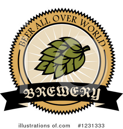 Hops Clipart #1231333 by Vector Tradition SM