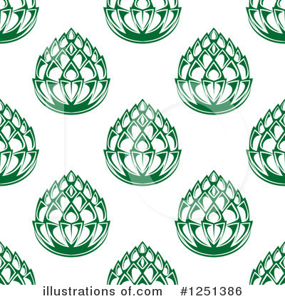 Hops Clipart #1251386 by Vector Tradition SM
