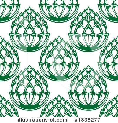 Hops Clipart #1338277 by Vector Tradition SM