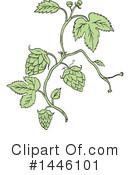 Royalty-Free (RF) Hops Clipart Illustration #1446101