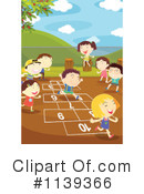 Royalty-Free (RF) Hopscotch Clipart Illustration #1139366
