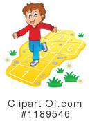 Royalty-Free (RF) Hopscotch Clipart Illustration #1189546