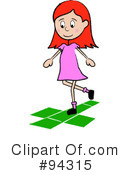 Hopscotch Clipart #94315 by Pams Clipart