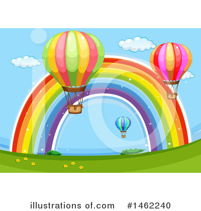 Hot Air Balloon Clipart #1462240 by Graphics RF
